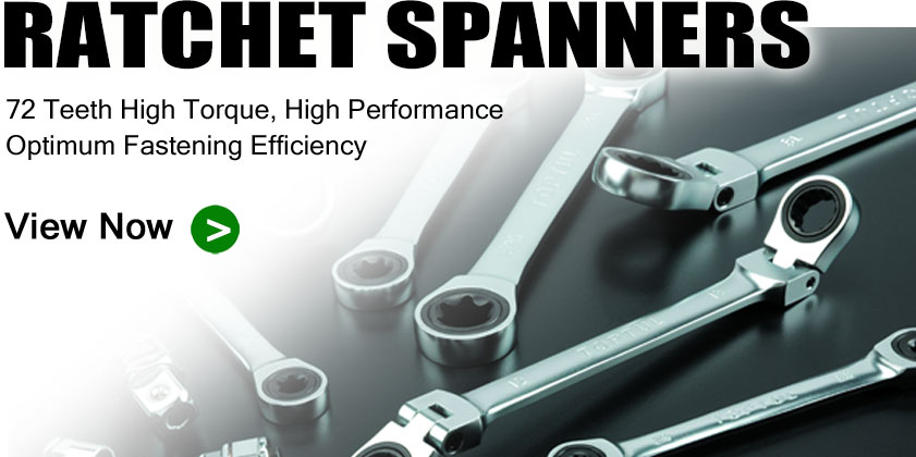 TOPTUL Ratchet Spanners and Sets Range